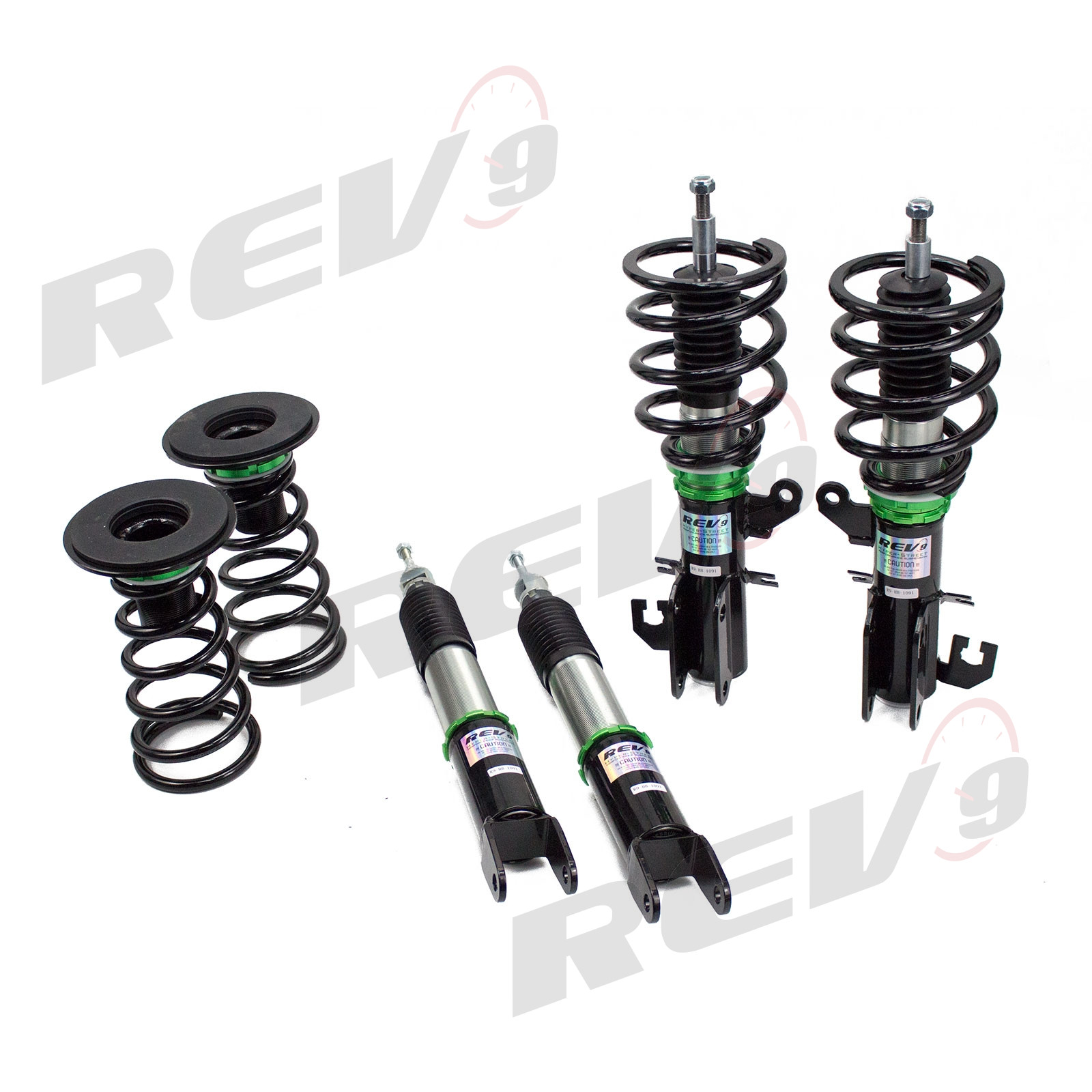 Rev9Power: Hyper-Street Basics Coilovers Set For Nissan