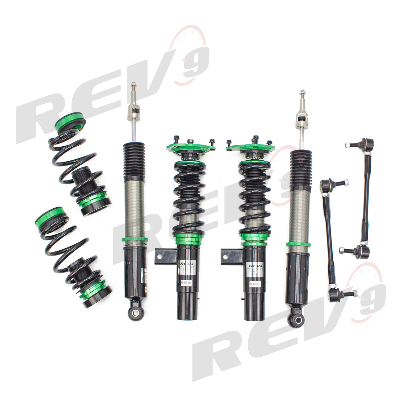 Rev9Power: Lowering Kit for Audi A3 / A3 QUATTRO (8P) 2006