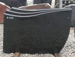 Hauakivi: K 410 (kõrgus50cm./laius70cm.)