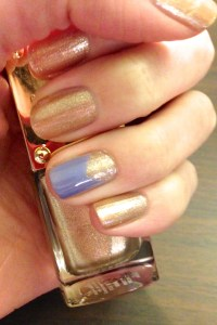 Simple Triangle Nail Design - Revamperate