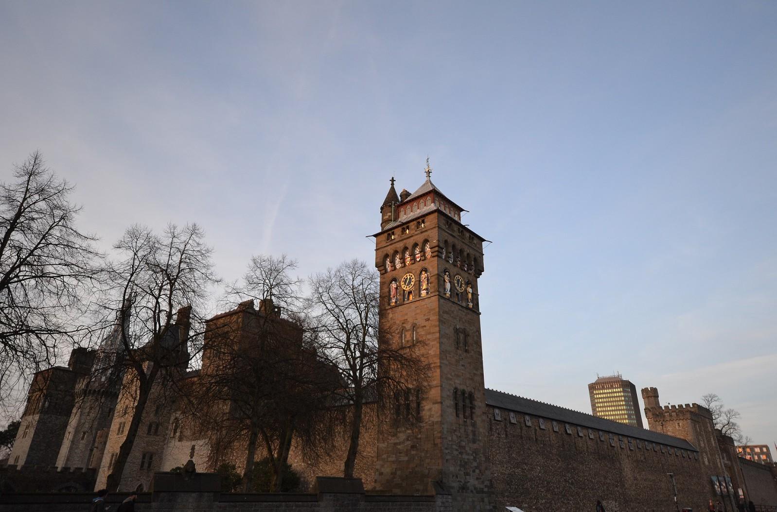 Le Chteau De Cardiff Ou Castell Caerdydd Les