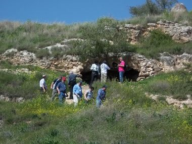 The mountain where Jesus likely delivered this sermon.