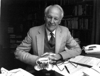 Anglican clergyman and evangelical scholar John Stott, who died in 2011.