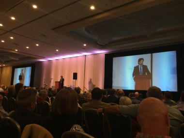 Rev. Rob Renfroe, president of Good News, addressing the inaugural WCA conference.
