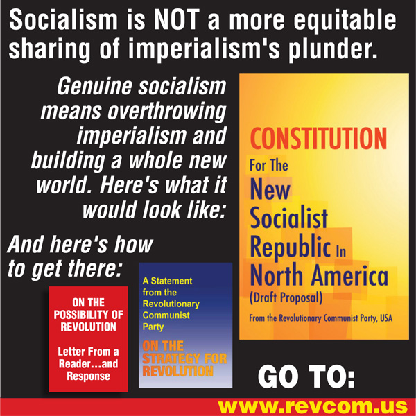 Constitution for the New Socialist Republic in North America: What a whole new world would look like