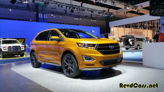 The redesigned Ford Edge - yet another attractive small SUV from Detroit