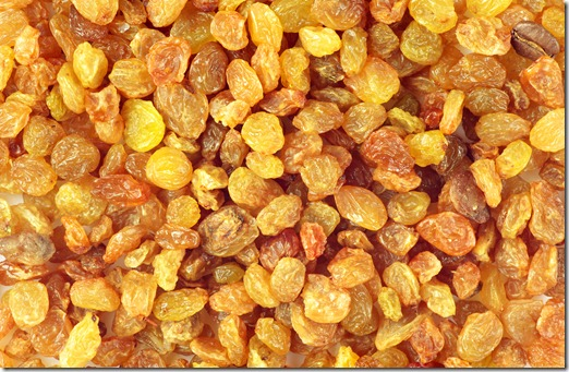 Raisins are a food for good skin