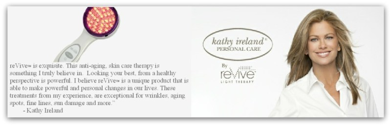Kathy Ireland reVive Light Therapy