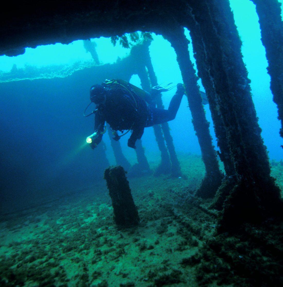 Diving in Malta - Wrecks
