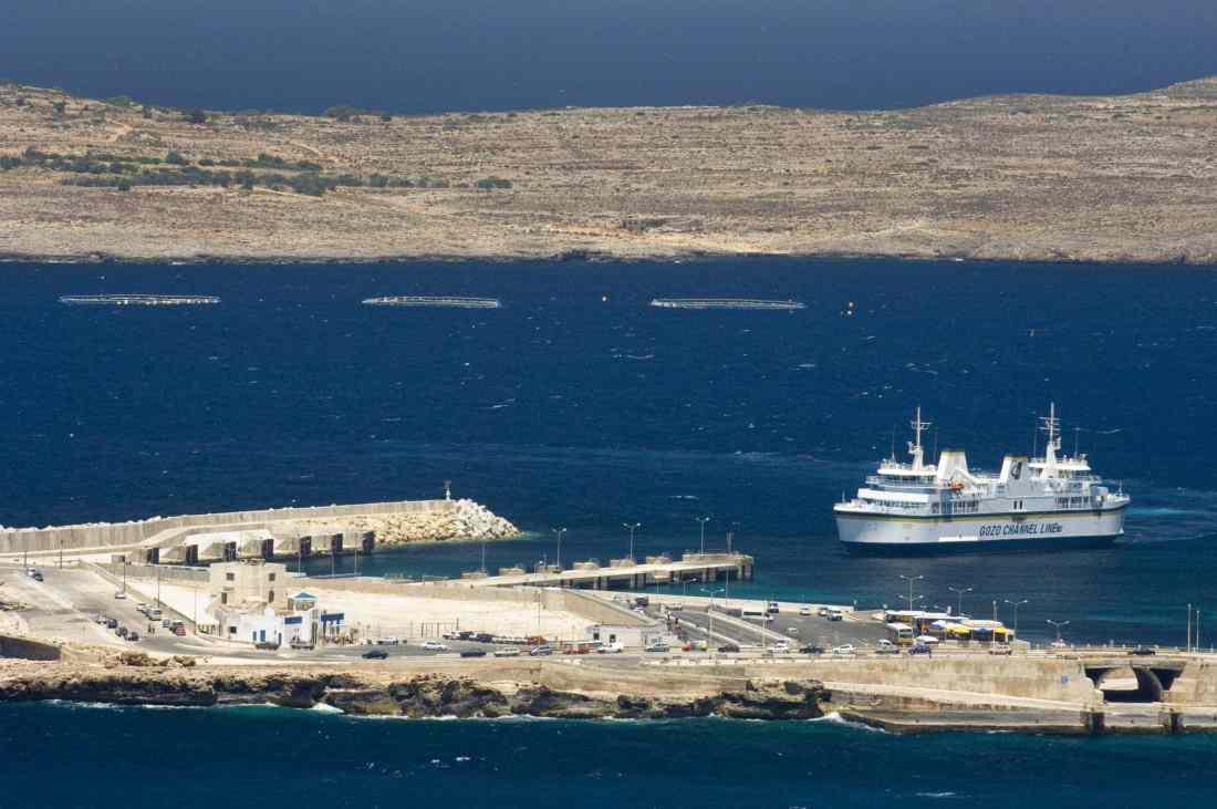 Malta Gozo Ferry