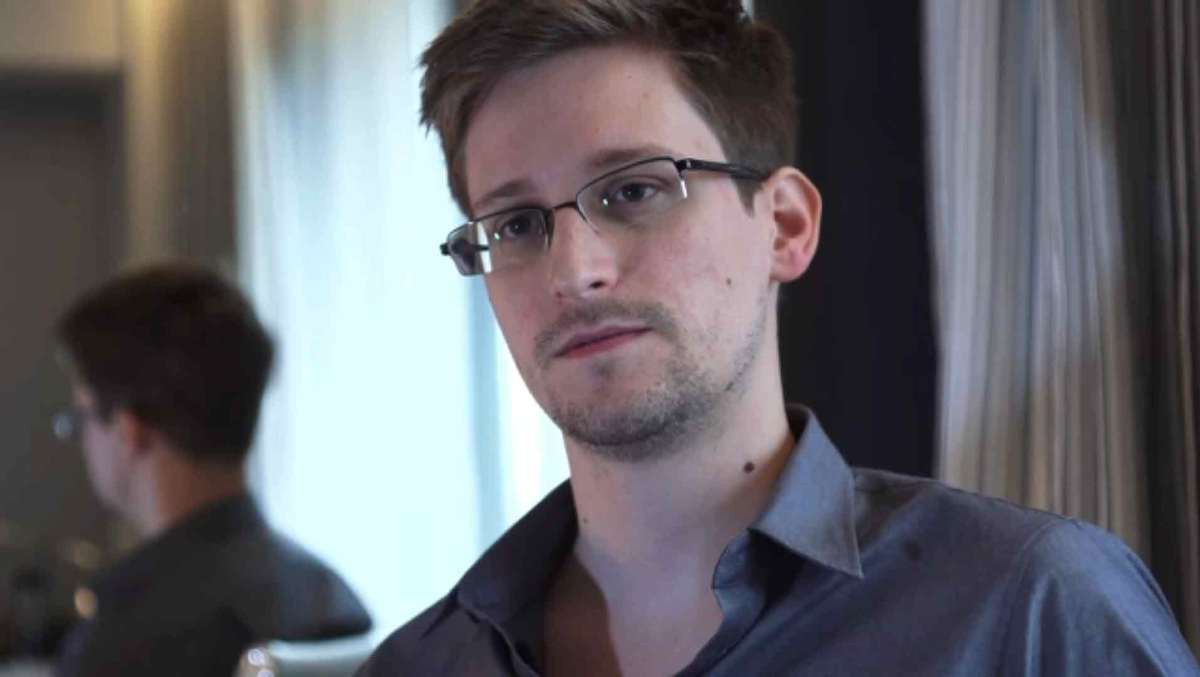 Edward Snowden, who leaked classified NSA documents, is currently in Moscow, where he has temporary asylum. Credit: The Guardian