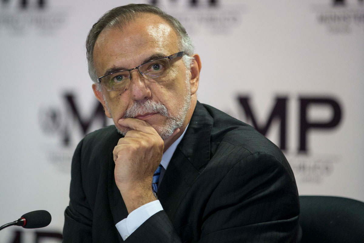 Iván Velásquez, commissioner of the U.N.'s International Commission Against Impunity in Guatemala, or CICIG.