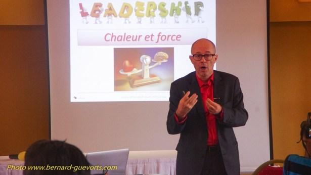Bernard Guévorts en conference