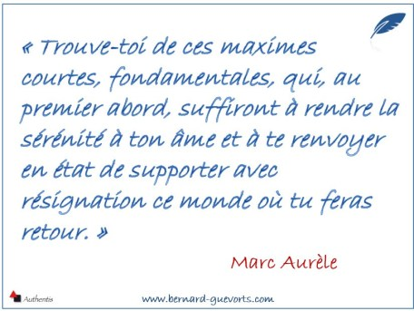Citation de Marc Aurèle sur les citations