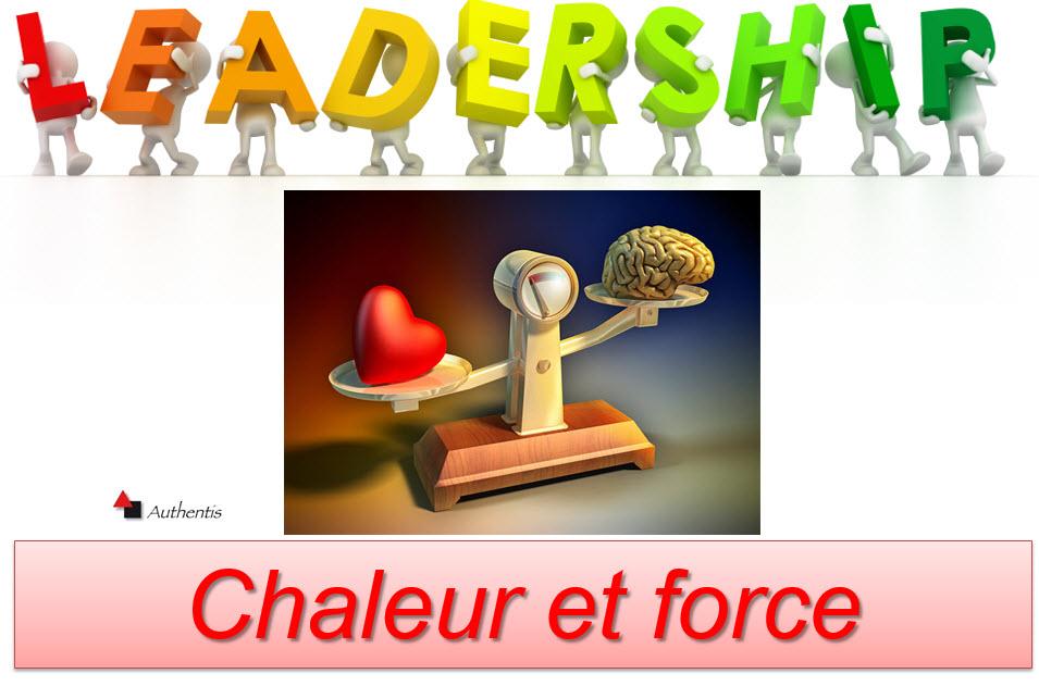 Leadership : chaleur et force