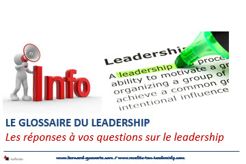 Couverture article glossaire du leadership