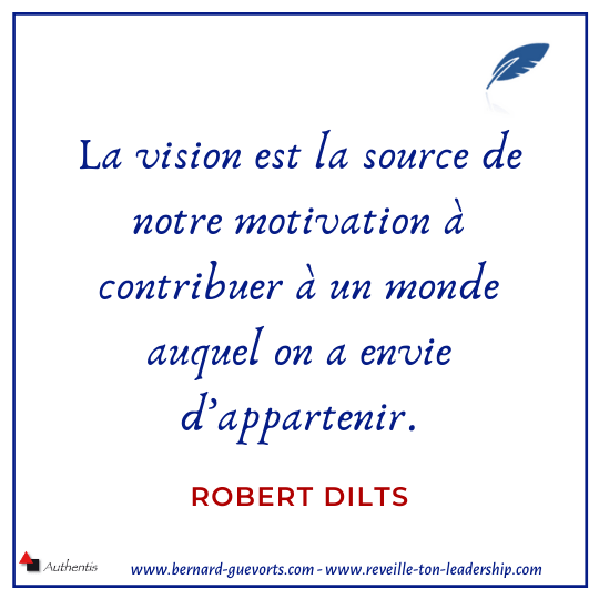 Citation de R Dilts sur vision