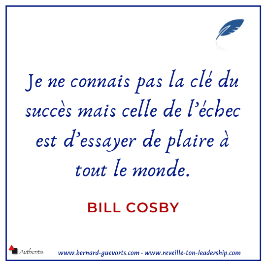 Citation sur le succès Bill Cosby