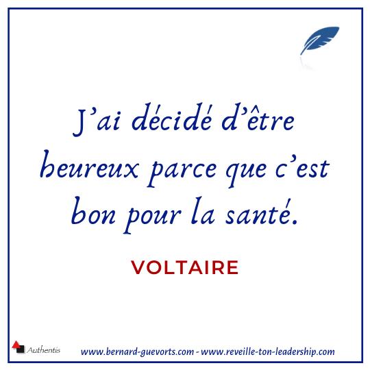 Citation de Voltaire sur la santé