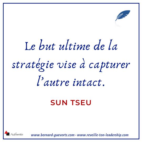 Citation sur la stratégie de Sun tseu