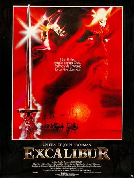 Affiche film Excalibur