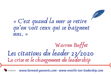 Couverture article citations du leader 23 sur le leadership