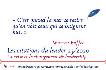 Couverture article citations du leader 23 sur le leadership