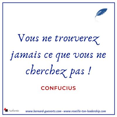 Citation de Confucius adaptée à la découverte client