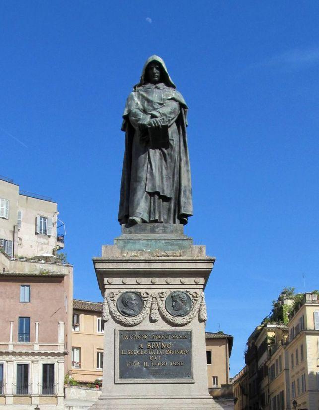 Statue de Giordano_Bruno_in_Campo_de_Fiori_square