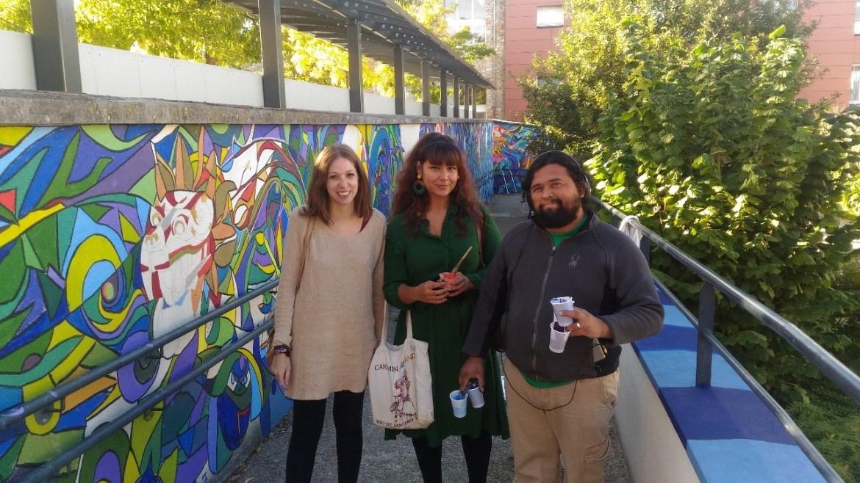 Isabel Gallego, Beatriz Arana y Renacho Melgar