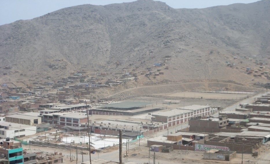 Foto . Vista panorámica de Jicamarca. Autor: Yeni Lara. Jicamarca-Perú 04.2014