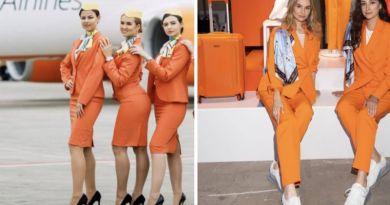 Aerolínea renueva uniforme de sobrecargos: pantalón y tenis en lugar de falda y tacones