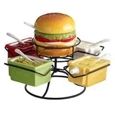 Tuesday Trend Hamburgers Revel And Glitter - Hamburger-scatter-cushions