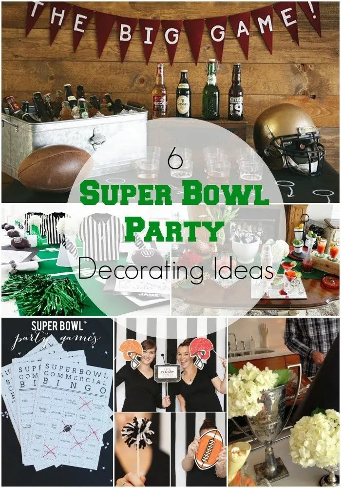 6 Stylish Super Bowl Party Decorating Ideas Revel And Glitter