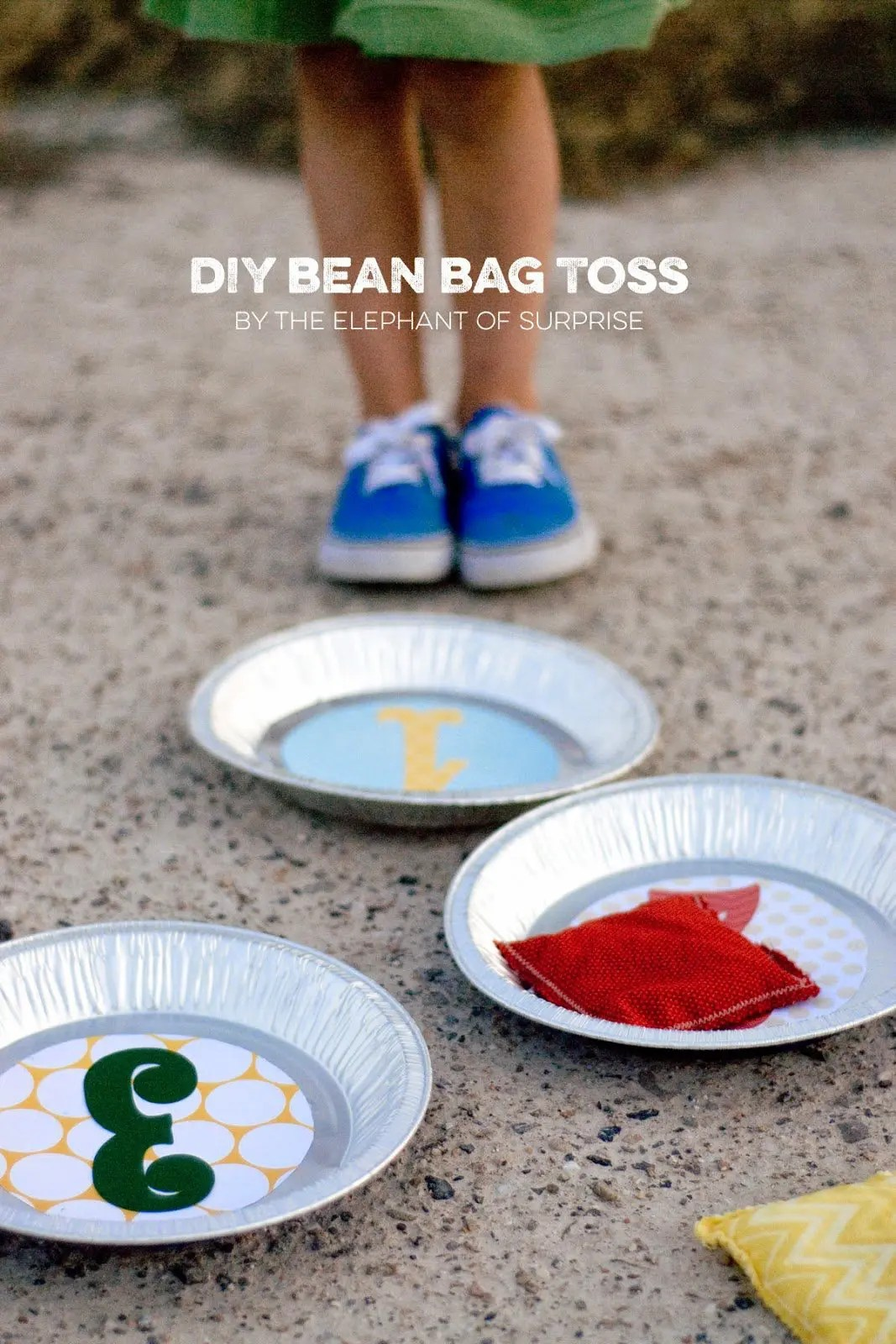 The Party Hop: Autumn Market - DIY Bean Bag Toss/ Cupcake