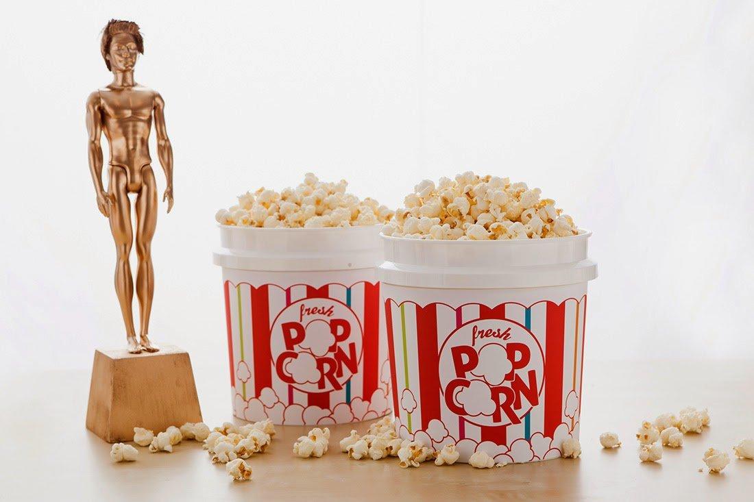 Tuesday Trend - Popcorn Bars, Oscars Edition - Revel and Glitter