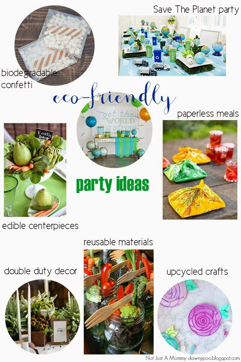 Eco friendly party ideas for earth day revel and glitter - Eco friendly ideas ...