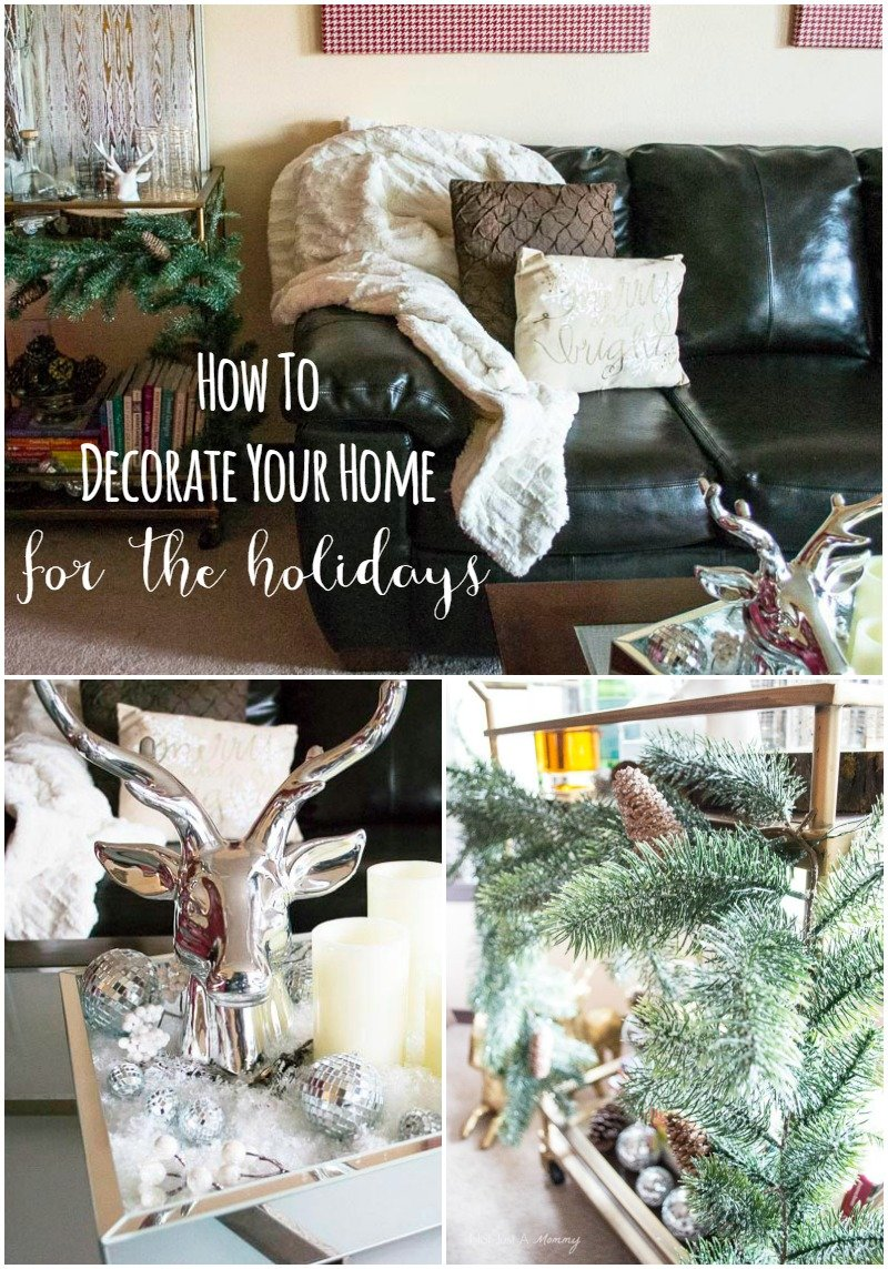 how to decorate your home for the holidays with big lots