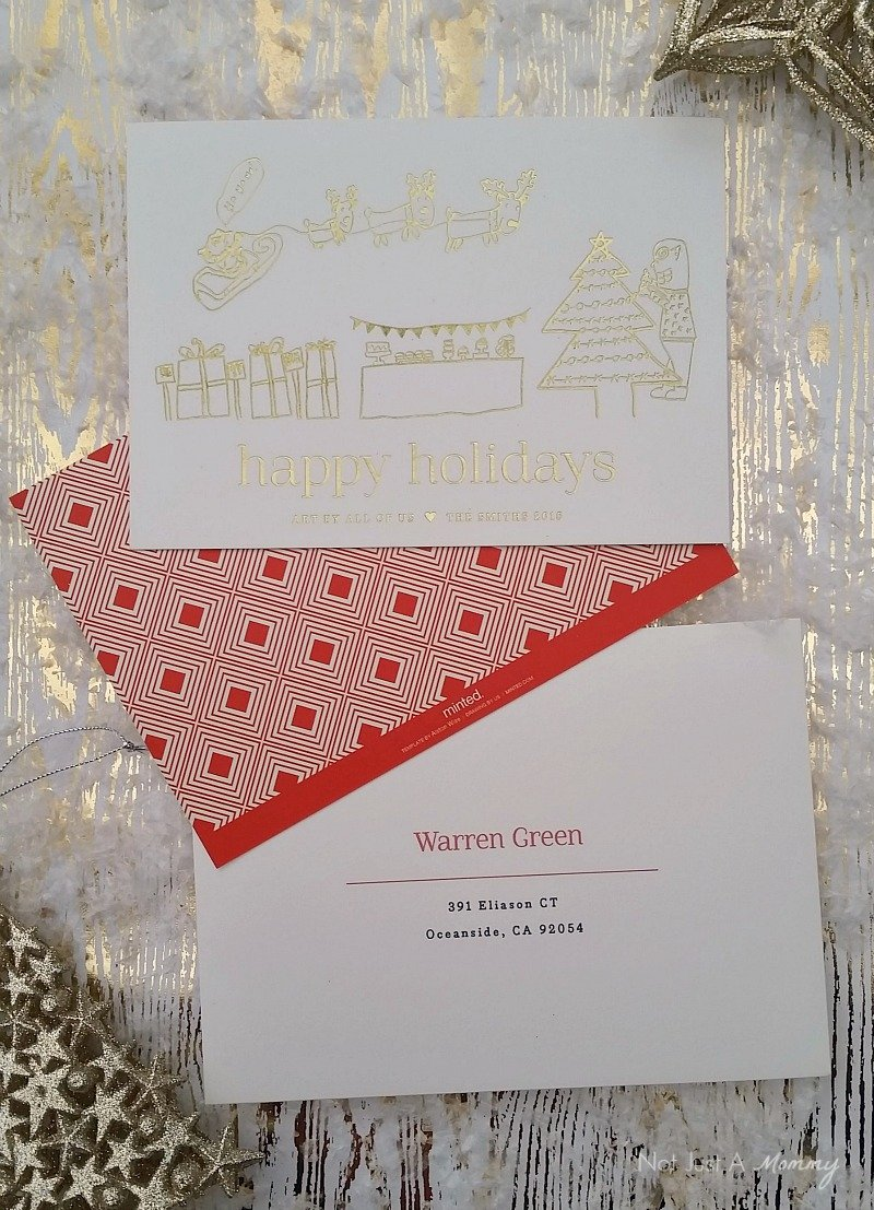Tuesday Tip - Completely Custom Holiday Cards With Minted - Revel ...