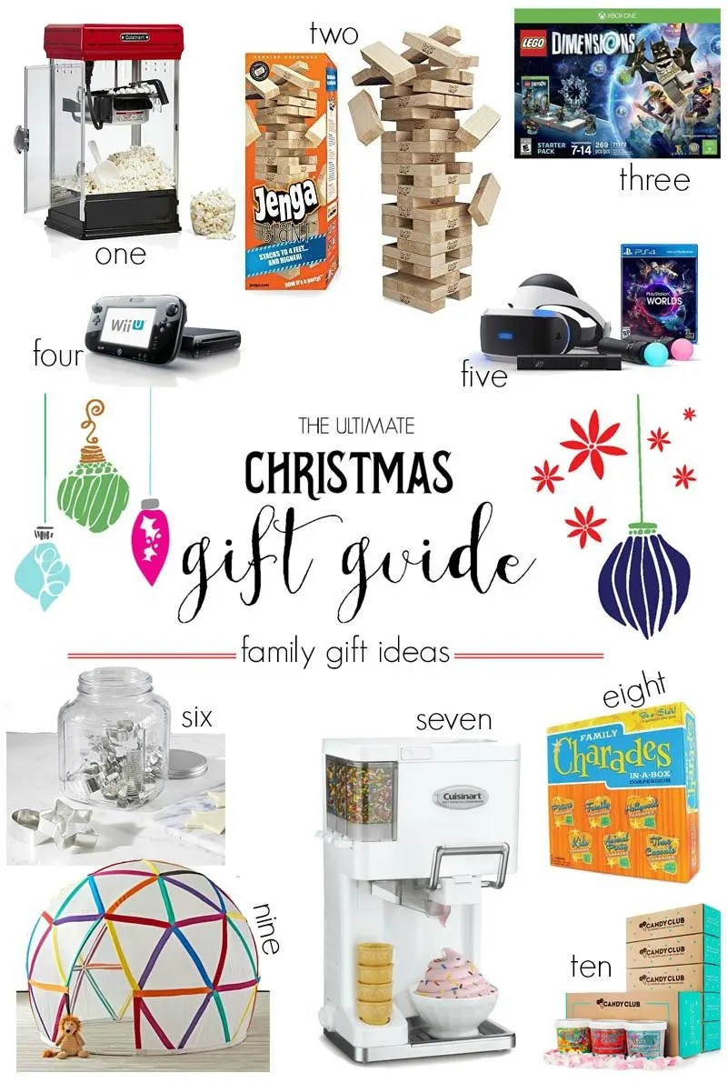 Family Christmas Gift Ideas.The Ultimate Christmas Gift Guide Family Gift Ideas Revel