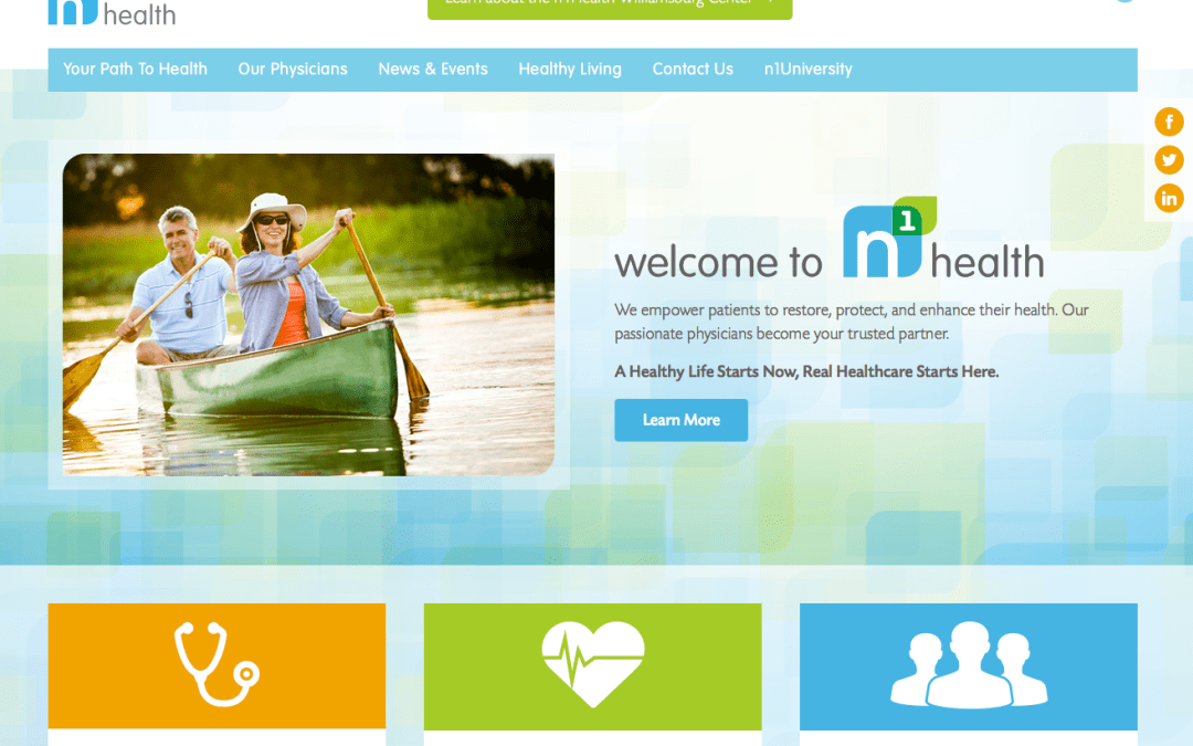 n1Health B2C Website Copy