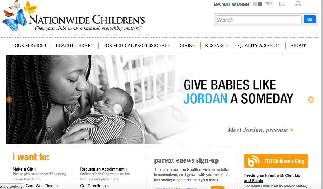Nationwide Children's Hospital: Blog