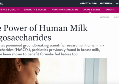 Abbott Nutrition: Article