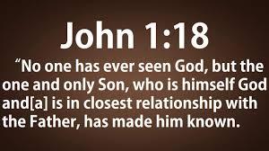 John 1 18 KJV