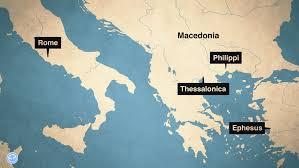 Philippians map