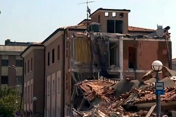 5.8 Earthquake in Italy: More to Come