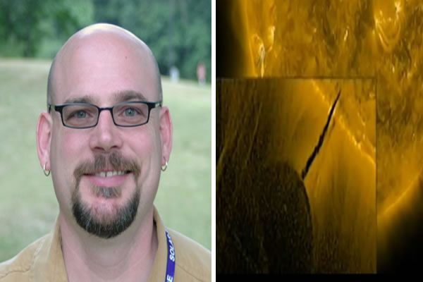 NASA Explains GIANT UFO by Sun