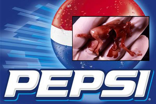 Pepsi:Abortion Cells Make it YUMMY!