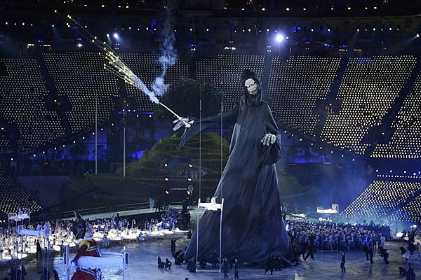 2012 Olympics Occult Ritual Breakdown