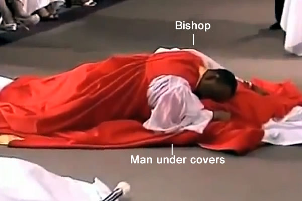 Bishop Dry Humps to Consecrate!